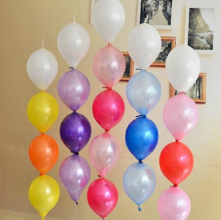 "50 x 12/"" Quick Link Latex Balloons Birthday Party Christening Wedding Decoration"