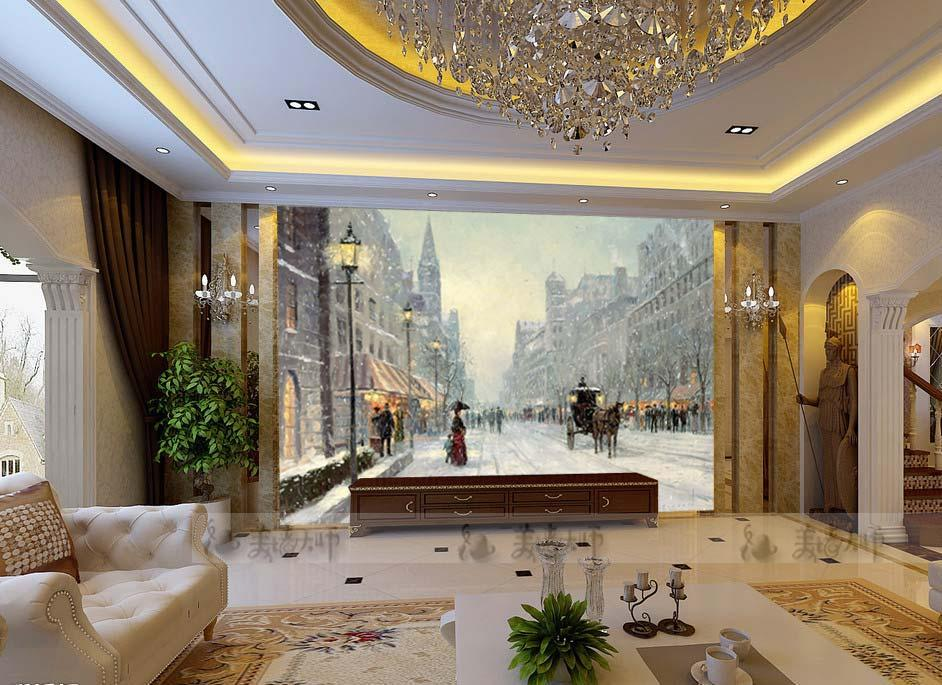 Modern Living Room Murals online shop large 3d simple modern living room sofa background