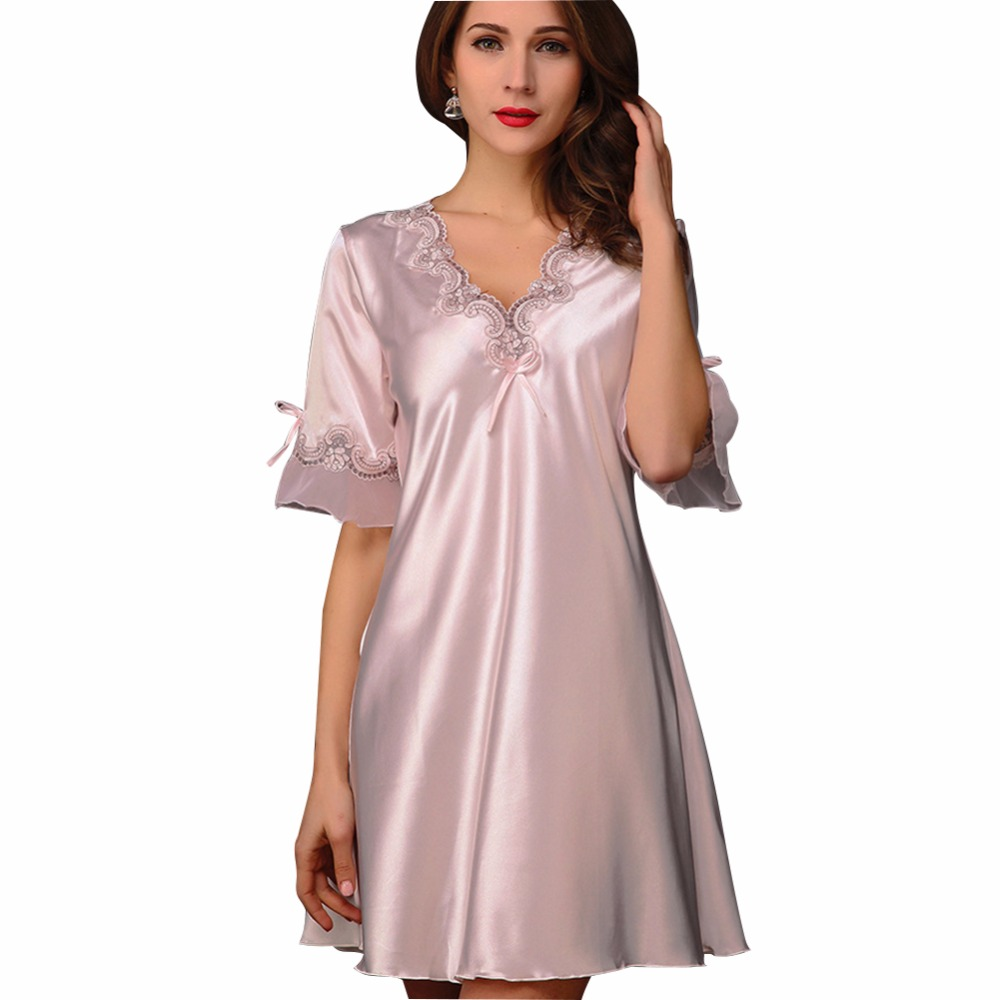 Pregnant women maternity nightdress for summer spring v neck pregnant women maternity nightdress for summer spring v neck sleepwear ladies lingerie pajama bathrobes in sleep lounge from mother kids on ombrellifo Image collections