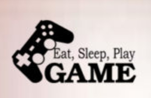 Game Room Vinyl Wall Decal EAT SLEEP PLAY GAME BOY LETTERING Boys Gamer Play Room Art Wall Sticker Kids Bedroom Home Decoration