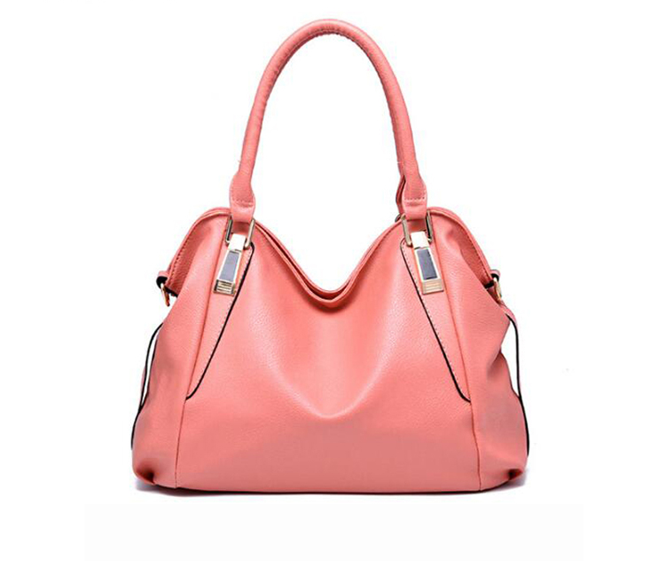 !Women Leather Handbags Classic Design Ladies Hand Bags Shoulder Bag Tote Hobos Bolsos Mujer Z54