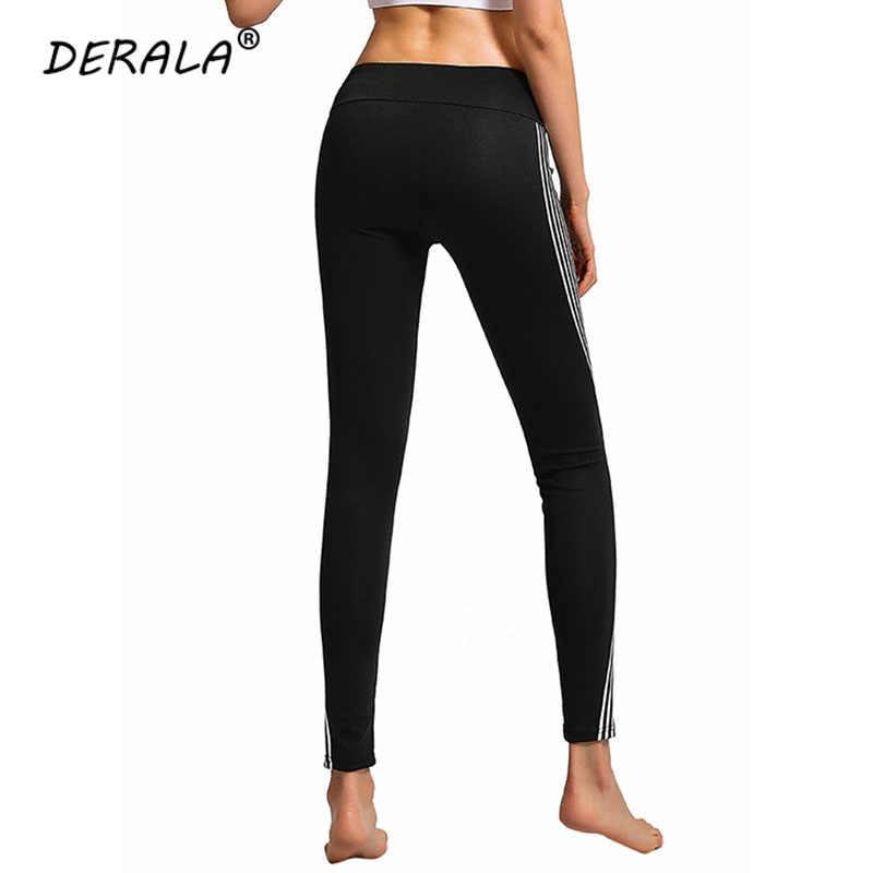 f1228267f17a2 ... Ladies High Waist Striped Laser Reflective Leggings Women Neon Rainbow  Leggings Fitness Glow in the Dark ...
