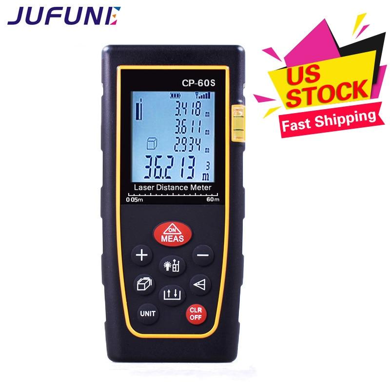 Misura del telemetro laser digitale Jufune CP-60S - Strumenti di misura - Fotografia 3