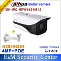 Dahua Stellar DH-IPC-HFW4431M-I2 replace IPC-HFW4431D&IP-HFW4421D 4MP bullet IP POE IR CCTV camera IPC-HFW4431M-I2 with bracket