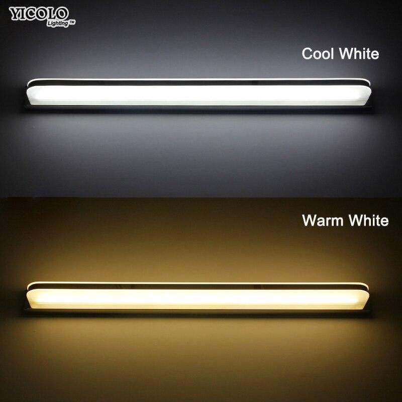 Miroir Mur Lampe Étanche Led 3 W/7 W/9 W/12 W/14 W/16 W/20 W/24 W Lumière Pour La Maison Luminaire Éclairage Mural Lampada Pour Chambre