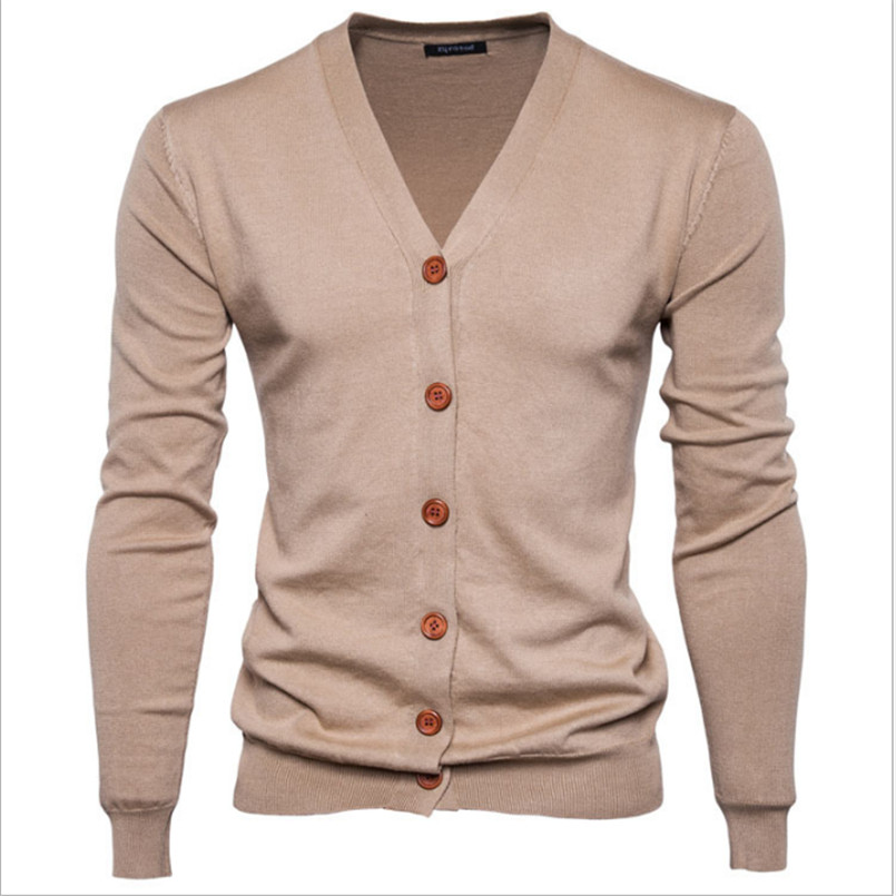 2018 Herbst Männer Pullover Casual-taste V-ausschnitt Pullover Langarm Baumwolle Stricken Strickjacke Slim Fit Pull Homme Multicolor