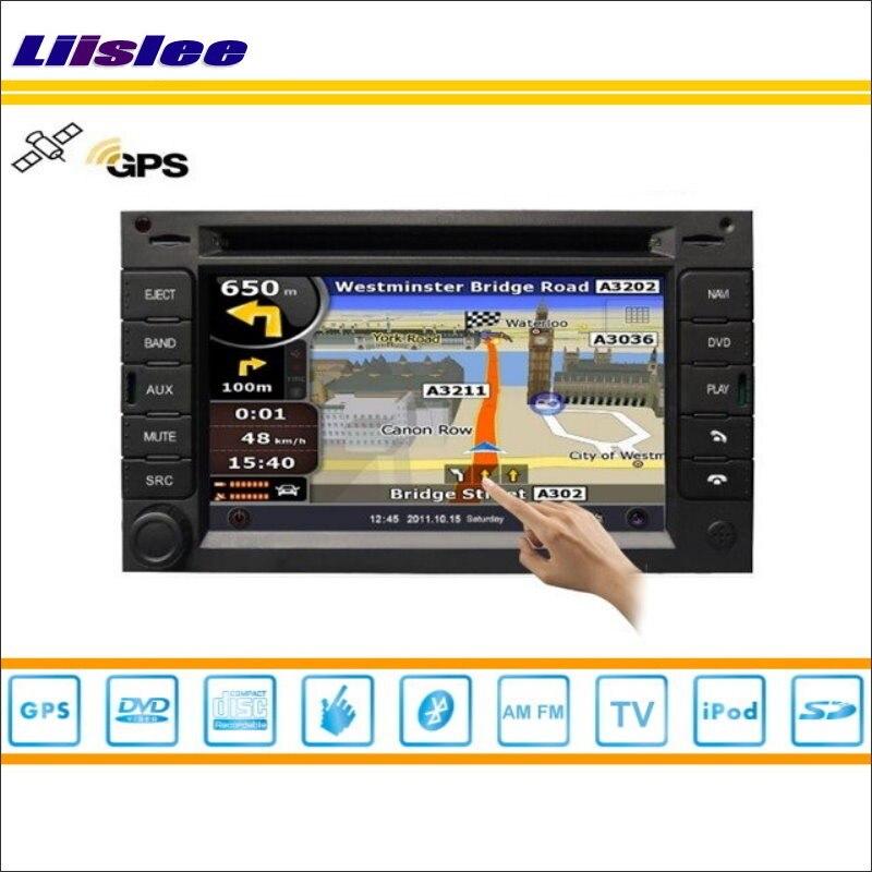 Liislee для Citroen C3 2002 ~ 2009 автомобиля Радио Аудио Видео стерео CD DVD плеер gps Nav навигационная карта навигации S160 мультимедиа Системы