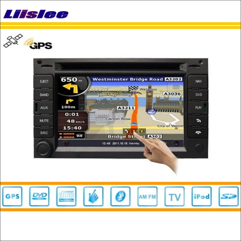 Liislee For Citroen C3 2002~2009 Car Radio Audio Video Stereo CD DVD Player GPS Nav Navi Map Navigation S160 Multimedia System