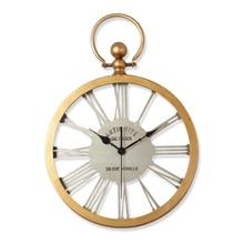 Large Wall Clock Saat Reloj Relogio de parede Retro Metal Mute living room bedroom duvar saati home decorn wall clocks watch