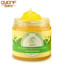 QYF 1pcs Exfoliating Foot Cream Moisture Essence Foot Nourish Pedicure Spa Baby Feet Care Dead Skin Removal Whitening Foot Care