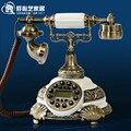 O novo clássico Europeu telefones antigos complexo pastoral criativa telefone fixo moda telefone telefone fixo em casa