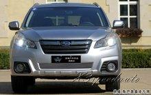 Para Subaru Outback 2010 2011 2012 2013 Parrilla de la Parrilla Inferior Delantera Ajuste de La Cubierta de Alta Calidad de Nueva Aleación de Aluminio de Carreras