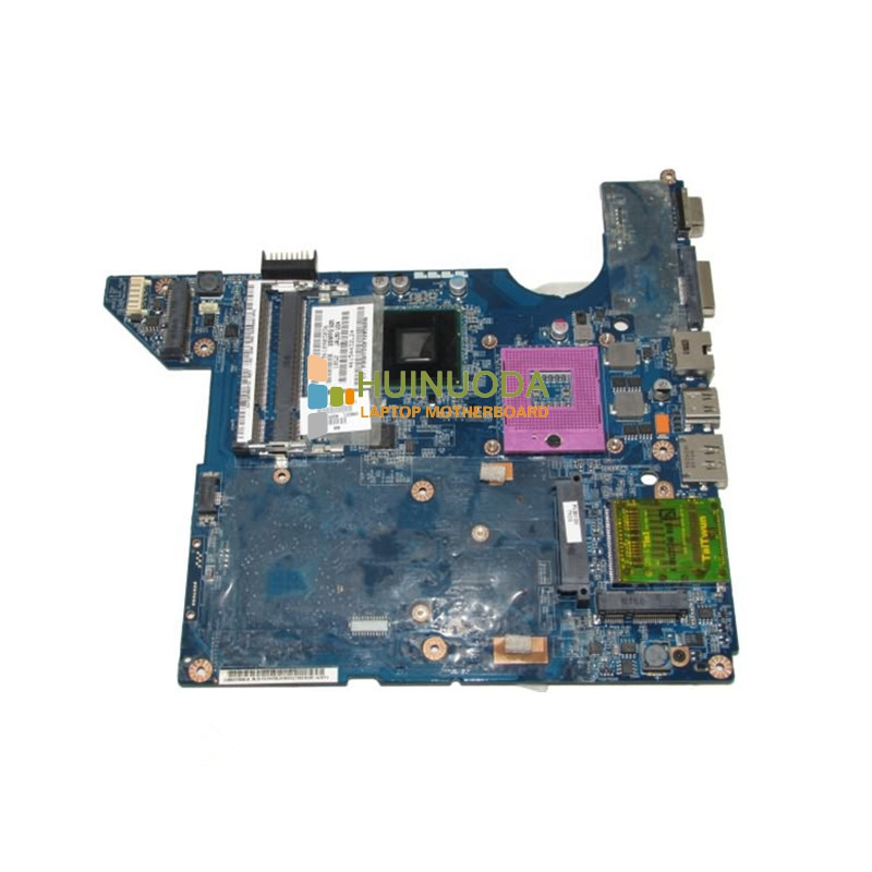 NOKOTION 572952-001 LA-4101P Main Board For HP DV4 DV4T-1400 Laptop Motherboard GM45 DDR2 with Free CPU warranty 60 days nokotion main board for hp 240 g3 laptop motherboard zs040 la a995p n3530 cpu ddr3 full test