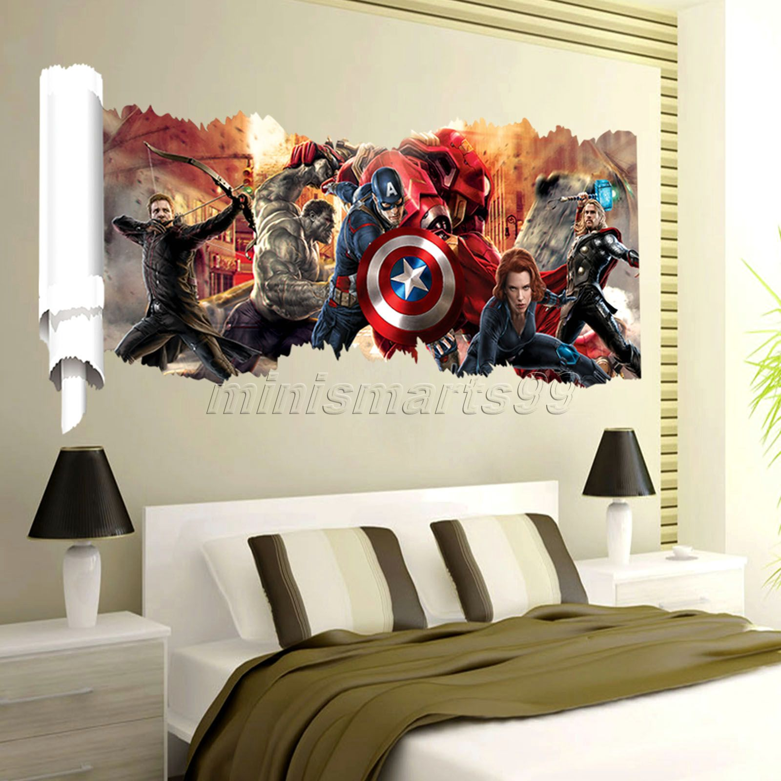 Best Wallpaper Marvel Wall - Marvel-s-The-Avengers-Wall-Sticker-Decals-for-Kids-Room-Home-Decor-Wallpaper-Poster-Nursery-Wall  Pic_31770.jpg