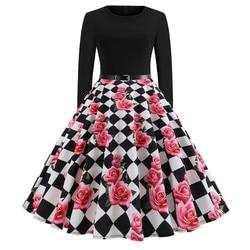 Women Vintage Dress JY13106 6