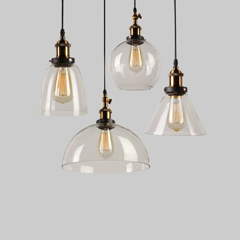 Loft Pendant Light Vintage Pendant Lamp E27 Socket Indoor Lighting Pendant Lamp Loft/Bar/Dining Room Vintage Industrial Light loft vintage industrial pendant light fixtures copper glass shade pendant lamp restaurant cafe bar store dining room lighting