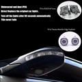 2 pcs LED sob luz espelho retrovisor para Explorer Taurus Borda Kuga Foco Mondeo car LED logo santo sombra puddle luz