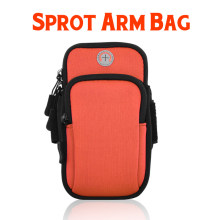 "6.5"" Universal Mobile Phone Bags Holder Rain proof Outdoor Sport Arm Pouch Bag For Phone On Hand Sports Running Armband Bag Case(China)"