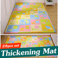 28PCS New Style Children Puzzle Mats Baby Floor Mat EVA Foam Mat Baby Foam Play Mat Children Rugs 1.4cm Thickness PX80
