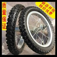 Baby accessories aluminum ring 12 14 16 1.75 2.125 kids bike rear wheel tyre