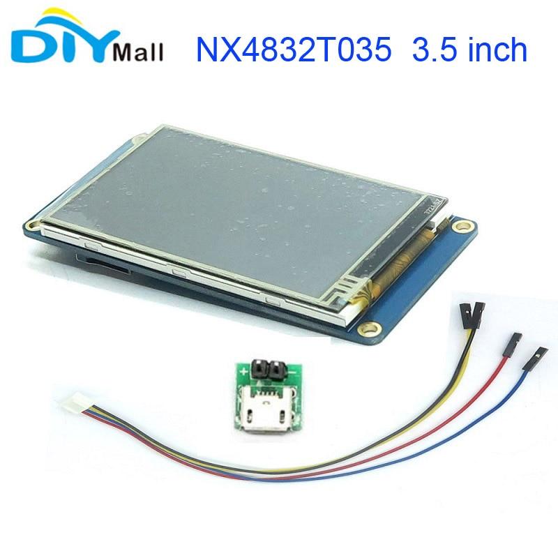 Nextion 3.5 TFT 480x320 NX4832T035 HMI Resistive Touch Screen UART Smart Display Module for Arduino Raspberry Pi ESP8266