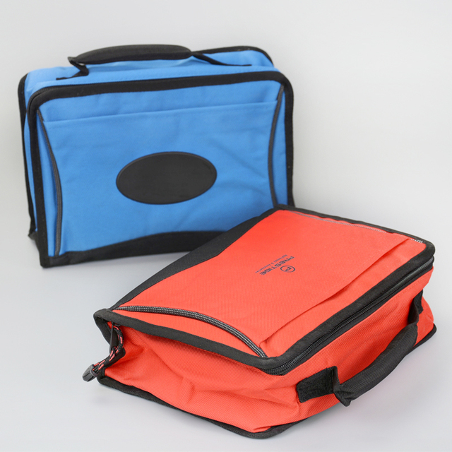 High Quality Small Square Thermal Cooler Handbag Picnic Lunch Box Insulated Food Carrier Ice Pack Thermo