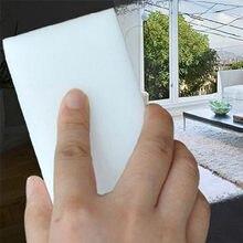 100*60*20mm 20 pçs esponja mágica borracha cozinha escritório banheiro carro limpo acessório/prato limpeza melamina esponja nano escova branca
