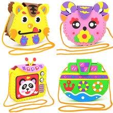 Bags Toys 3d-Stickers Materials EVA Kindergarten DIY Small Children Cartoon