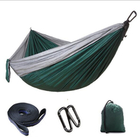 1 Or 2 People Portable Parachute Hammock Camping Survival Garden Hunting Leisure Travel Double Person Hammocks