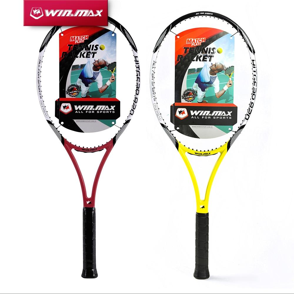 Winmax 2019 Ny Carbon Fiber Tennis Racket, Carbon Graphite Tennis Racket