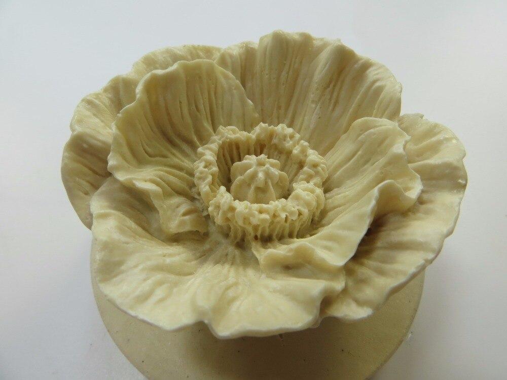 molde 3d moldes de campo flores molde