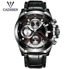 CADISEN Top Brand Fashion Men's Watches Casual Pilot Military  Sport  Quartz Wrist Watches Male Clock Relogio Masculino 9016
