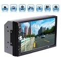 """2DIN Автомобиля Bluetooth Audio 7 """"HD Сенсорный экран Радио В Тире Экран Стерео поддержка MP3 MP5 Mp3-плеер USB TF AUX"""