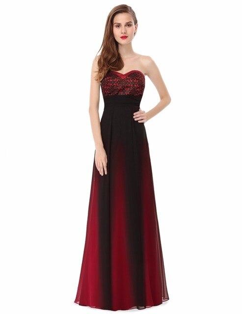 fe859fb8dfd2  Saldi  Abiti Da Sera Rosso Elegante Senza Spalline Abiti Da Sera Lunghi  2016 Vestidos