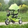 Crianças de triciclo crianças bicicleta carrinho de bebê carrinho de bebê crianças bicicleta