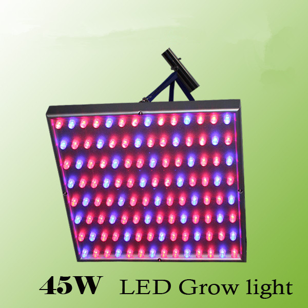 45W LED Grow Lamp Indoor Hydroponic Plant Growth Light  red:72 blue: 40leds Panel Grow Light for flowers &greens led light red blue 135w ufo led grow light plant lamp smd 660nm 460nm grow hydroponic system tent lamp
