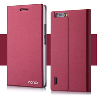 7 Colors Original Brand Flip Leather Case Huawei Honor 6 Luxury Mobile Phone Pouch Bags Card
