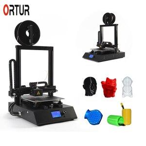 Nouvelle génération Ortur-4 imprimante 3d niveau automatique Stampante 3D professionnel tout-métal imprimante 3d reprendre impression Filament fin capteur