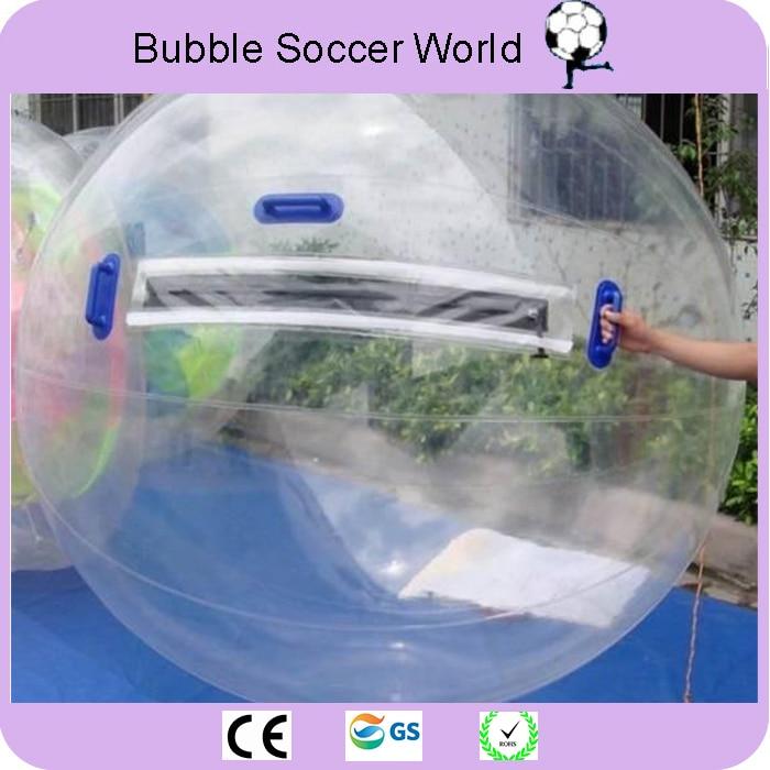 Envío Gratis calidad superior 2 m Bola de agua gigante Bola de agua Zorb Bola de agua inflable BOLA DE Zorb para juego baile