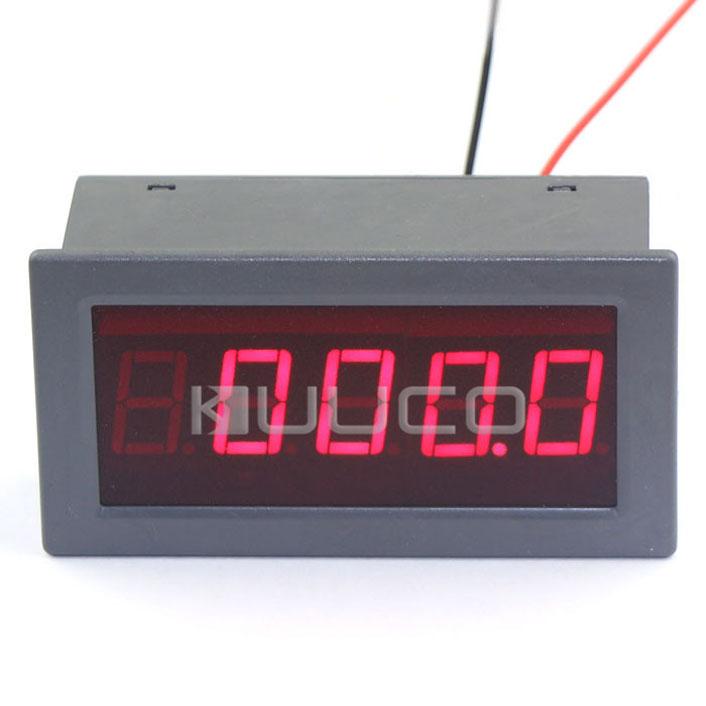 Digital Meter DC 5V Voltage Meter Positive and Negative Volt Tester DC +/-0-600V Red Led Display Panel Meter/Volt Monitor Meter