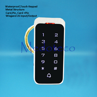 Waterproof Touch keypad 2000 Users Door RFID Access Control Keypad Metal Case Reader 125khz EM4100 ID Card Reader