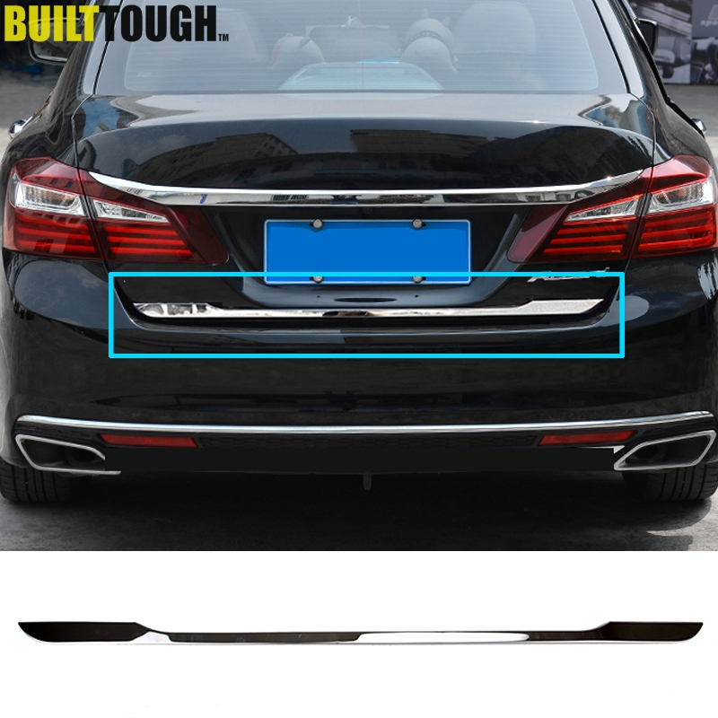 New Honda Accord 2016 >> Tail Gate Cover Trim Strip For Honda Accord Sedan 2014