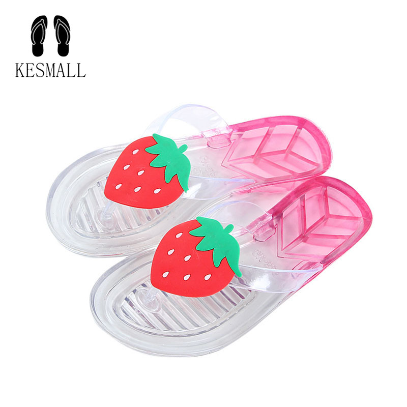 2018 New Style Sweet Jelly Shoes Women Sandals Flip Flops Summer Flat Shoes Woman Casual Flats Shoes Slippers WS126 new 2018 shoes woman sandals wedges lovely jelly shoes solid casual slippers summer style fashion slides flats free shipping