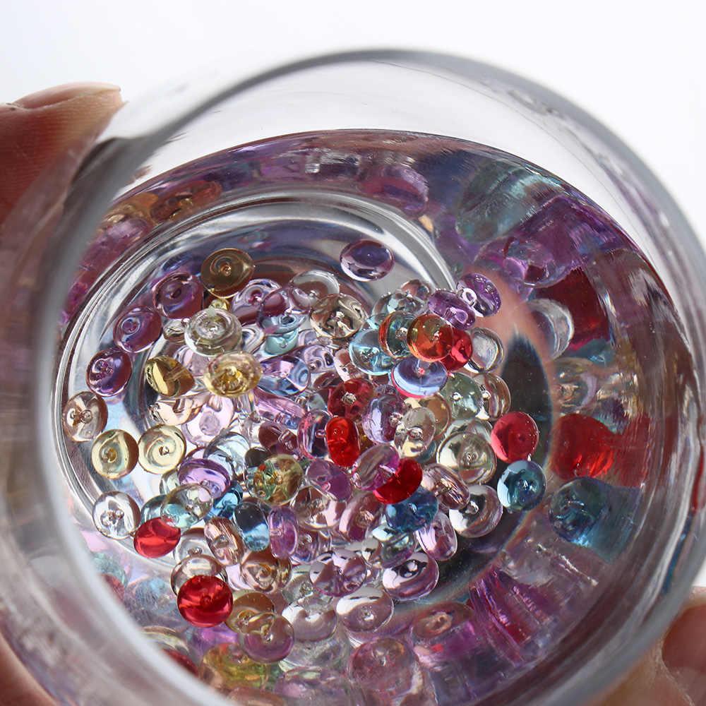 500pcs/Bag Colorful 7mm Diameter Fishbowl Beads DIY Plastic Decoration Craft For Home DIY Decoration Craft Tools