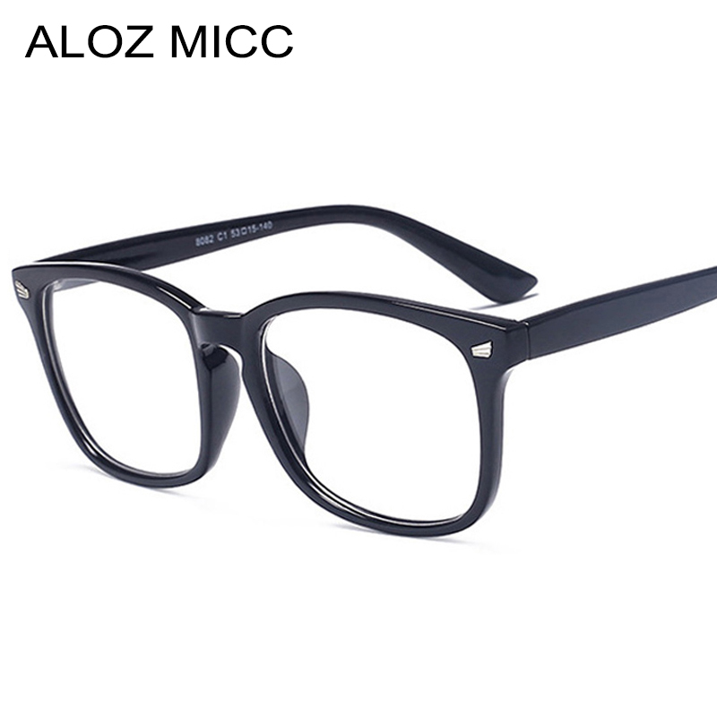 Fashion Square Women Spectacle Frame Classic Optical Glasses Frame Men Women Plain Optical Eyeglasses Frame Frames <font><b>Culos</b></font> De Q360 image