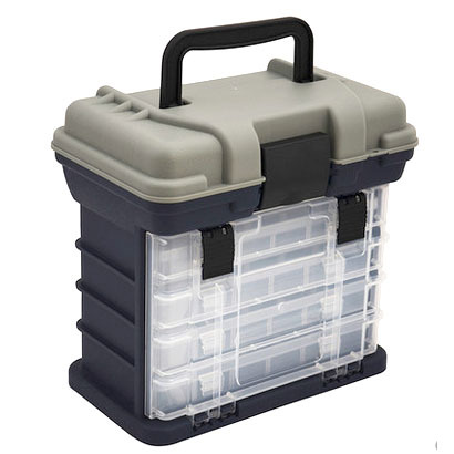 ФОТО Multi-function Portable Lure Box 27.5 X 26 X 17CM Detachable hardware spare parts Storage Case Fishing Tackle box