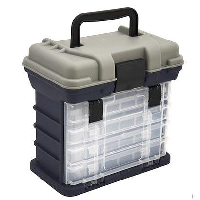 Multi-function Portable Lure Box 27.5 X 26 X 17CM Detachable hardware spare parts Storage Case Fishing Tackle box