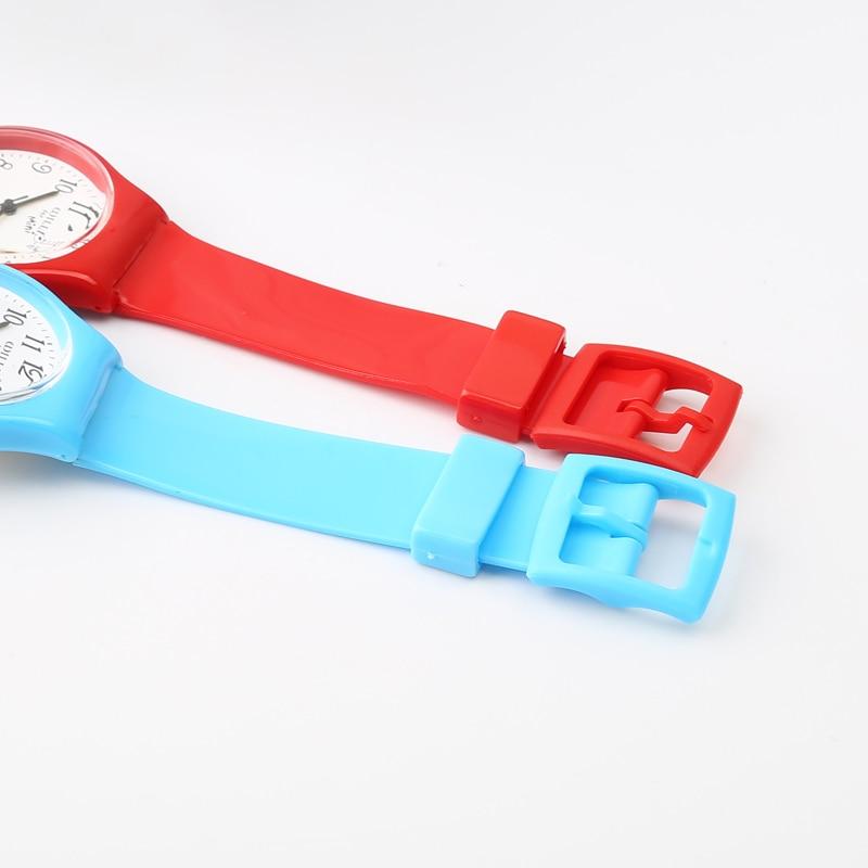 New Fashion Enkel Transparent Mini Quartz Watch Vattentät Silikon - Barnklockor - Foto 6