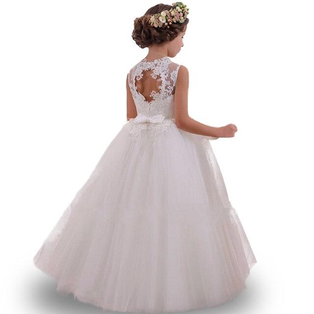 Derniers styles de haute qualité filles robe enfant fille de mariage fleur fille robe de soirée élégant anniversaire protagoniste robe de princesse