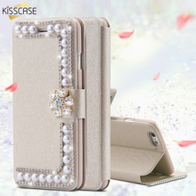 KISSCASE Case For Samsung Galaxy S4 S5 S6 S6 S7 Edge Galaxy S8 Plus Note 8 Wallet Leather Case For Samsung Galaxy Note 8 5 4 3
